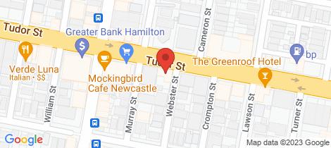 Location map for 8/79 Tudor Street Hamilton