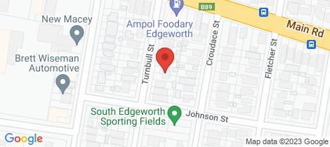 Location map for 42 Turnbull Street Edgeworth