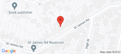 Location map for 186 St James Road New Lambton