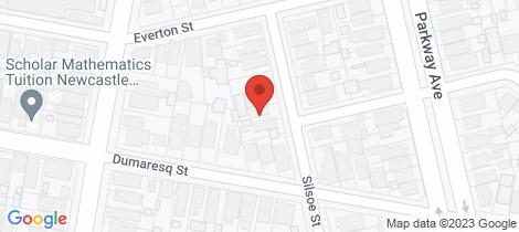 Location map for 12 Silsoe Street Hamilton East