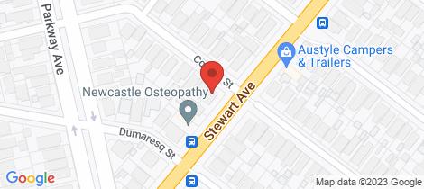 Location map for 27 Corona Street Hamilton East