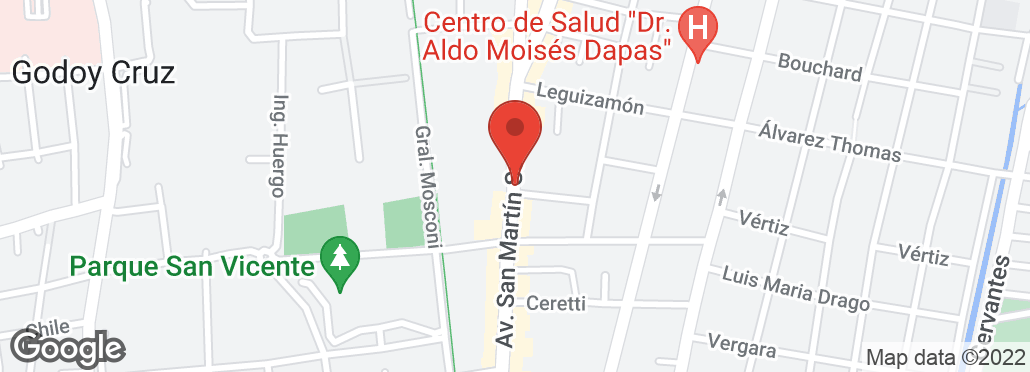 Av. San Martín Sur 600 , Godoy Cruz, Mendoza, MZ