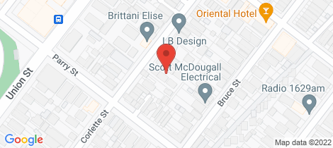 Location map for 4/59 Corlette Street Cooks Hill