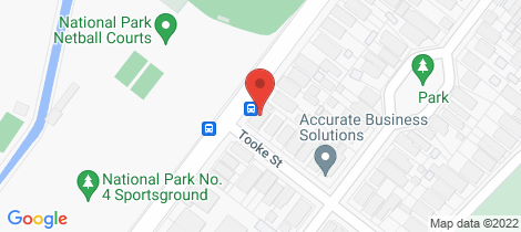 Location map for 100 Tooke Street Cooks Hill