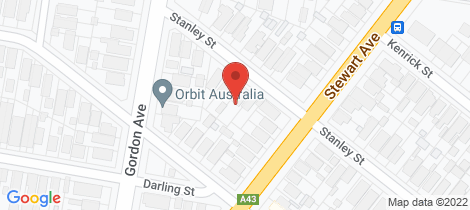 Location map for 49 Stanley Street Hamilton South