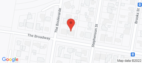 Location map for 38 The Broadway Killingworth