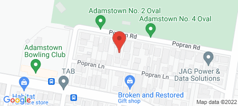 Location map for 1/25 Popran Road Adamstown