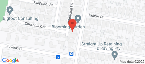 Location map for 254 Beaumont Street Hamilton South