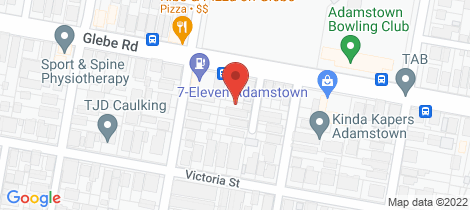 Location map for 2 Buxton Lane Adamstown