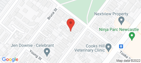 Location map for 108 Dawson Street Cooks Hill