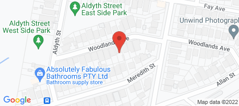 Location map for 25 Woodlands Avenue New Lambton