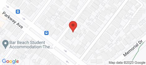 Location map for 53 Light Street Bar Beach