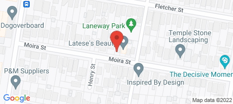 Location map for 36 Moira Street Adamstown