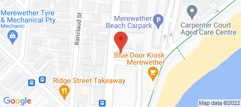 Location map for 1/82 Frederick Street Merewether