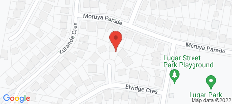 Location map for 7 Penelope Place Kotara