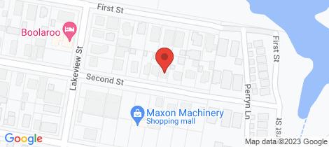 Location map for 7 Second Street Boolaroo