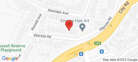Location map for 34 Ellerslie Road Adamstown Heights