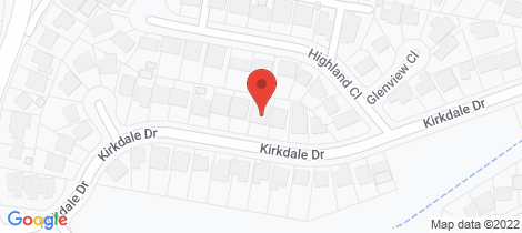 Location map for 15 Highland Close Charlestown