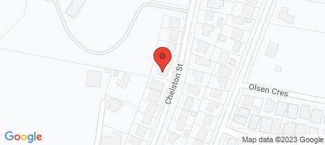 Location map for 17 Chelston Street Warners Bay