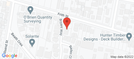 Location map for 2/38b Frith Street Kahibah