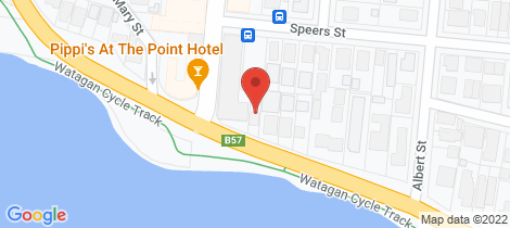 Location map for 196 The Esplanade Speers Point