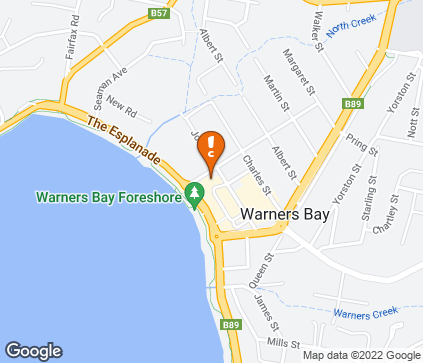 Map of Shop 2, Warners Bay Arcade in Warners Bay