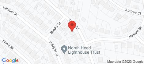 Location map for 43 Tirriki Street Charlestown