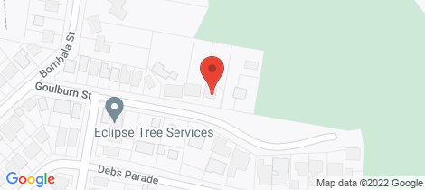 Location map for 5a Goulburn Street Dudley