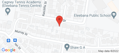 Location map for 20 Park Drive Eleebana