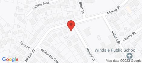 Location map for 26 Netley Street Windale
