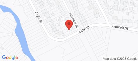 Location map for 28 Michael Street Blackalls Park