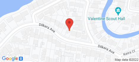 Location map for 19 Dilkera Avenue Valentine