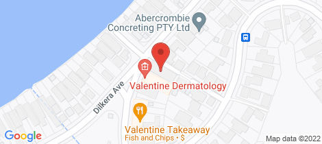 Location map for 5/68 Dilkera Ave Valentine