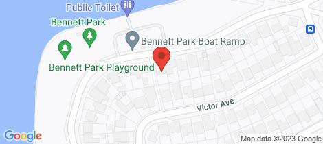 Location map for 102 Dilkera Avenue Valentine