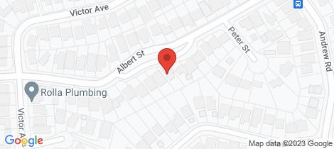 Location map for 22 Albert Street Valentine