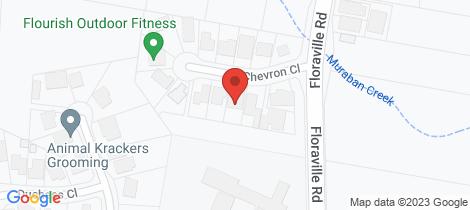 Location map for 1/7 Chevron Close Floraville