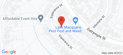 Location map for 9 Esperance Street Jewells