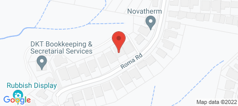 Location map for 12 Roma Road Valentine