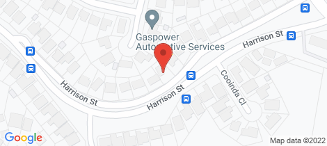 Location map for 89 Harrison Street Belmont North
