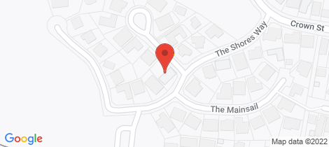 Location map for 1 The Capstan Belmont