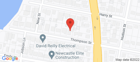 Location map for 24 Thompson Street Belmont South