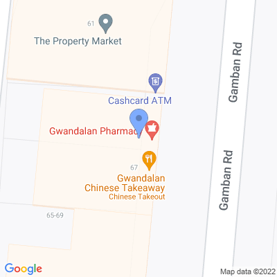 NSW - Phamily Pharmacies 65 Gamban Road , GWANDALAN, NSW 2259, AU