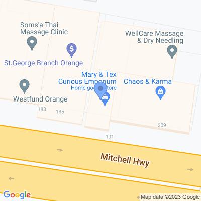 Mary & Tex Curious Emporium 187 Summer Street , ORANGE, NSW 2800, AU
