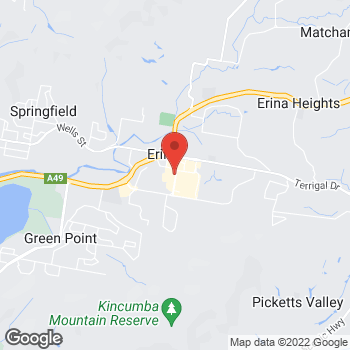 Map of STA Travel at Terrigal Drive, Erina, NSW 2250