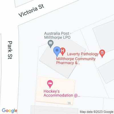 MIllthorpe Community Pharmacy 44 VICTORIA ST , MILLTHORPE, NSW 2798, AU