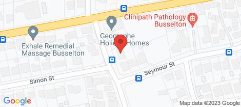 Location map for 37 Seymour Street West Busselton