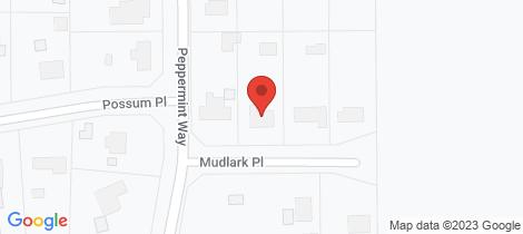 Location map for 7 Mudlark Place Vasse
