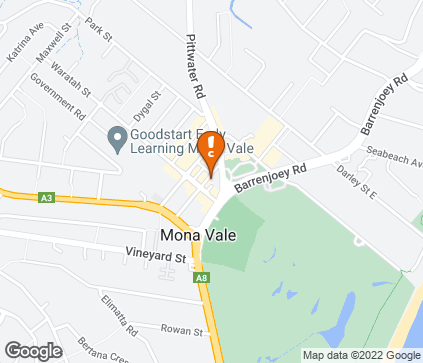 Map of Lynwood Medical & Natural Health Centre in Mona Vale