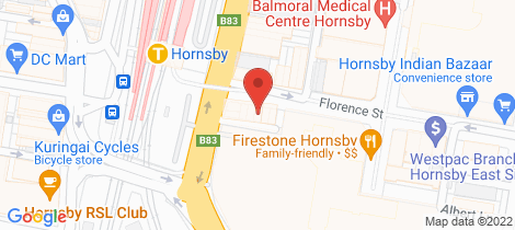 Location map for 7-8/2A Florence Street Hornsby
