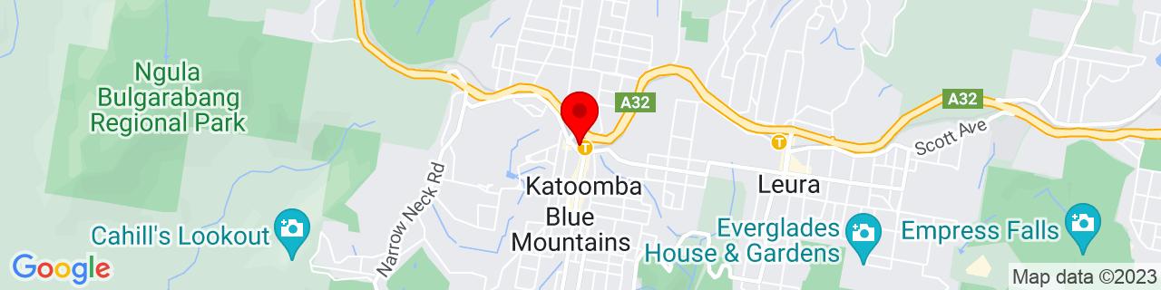 Google Map of -33.711961111111115, 150.3114388888889